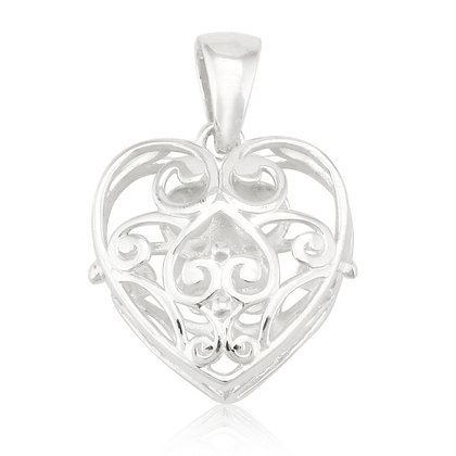 Southern Gates Collection Puffy Heart Pendant