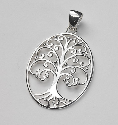 Southern Gates Collection Large Oval Oak Tree Pendant