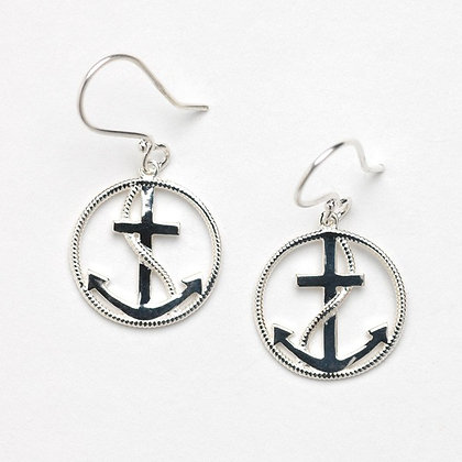 Southern Gates Collection Anchor Earrings