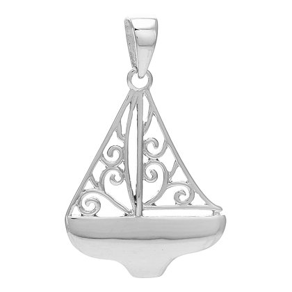 Southern Gates Collection Sailboat Pendant