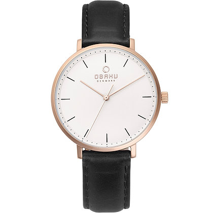 Obaku Ladies Watch - VEST - COAL