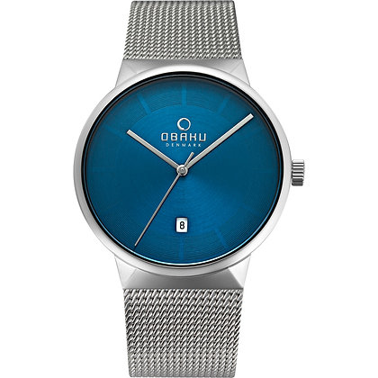 Obaku Gent's Watch - HAV - CYAN