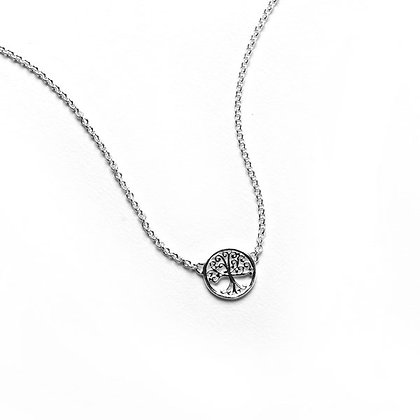 Southern Gates Collection Sterling Silver Oak Tree Necklace