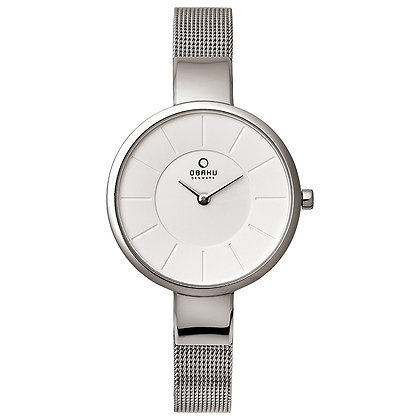 Obaku Ladies Watch - SOL - STEEL