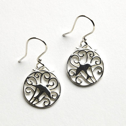 Southern Gates Collection Small Bird Gate Earrings