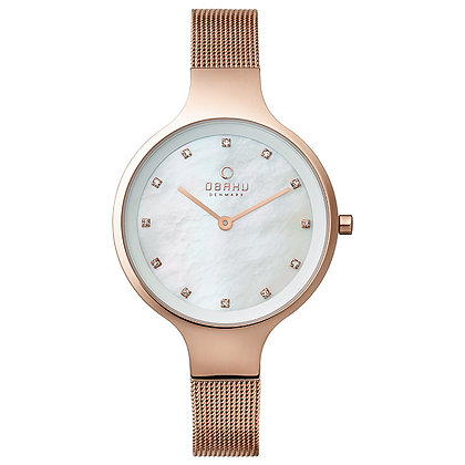 Obaku Ladies Watch - SKY - ROSE
