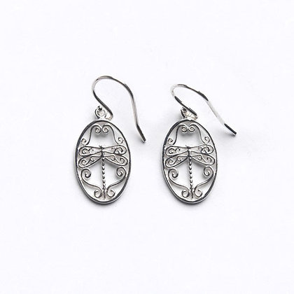 Southern Gates Collection Small Dragonfly Earrings