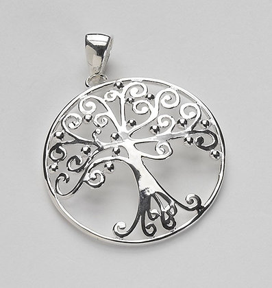 Southern Gates Collection Large Round Tree Pendant