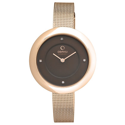 Obaku Ladies Watch - LYNG - WALNUT