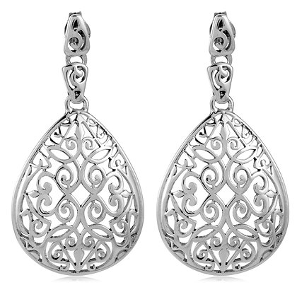 Southern Gates Collection Teardrop Dangle Post Earrings