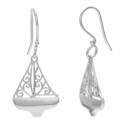 Southern Gates Collection Sailboat Earrings