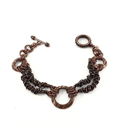Textured Drape Bracelet