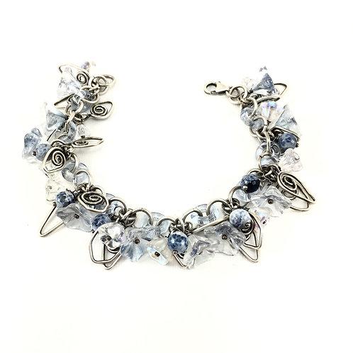 Denim Garden Bracelet