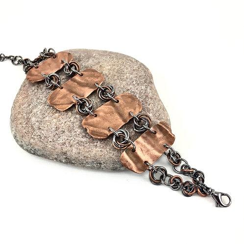 Vertebrae Copper Bracelet