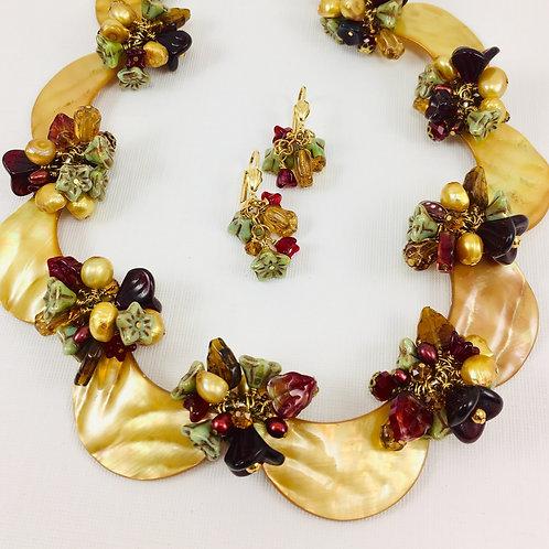Autumn Queen Necklace Set