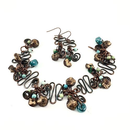 Journey Copper Bracelet Set