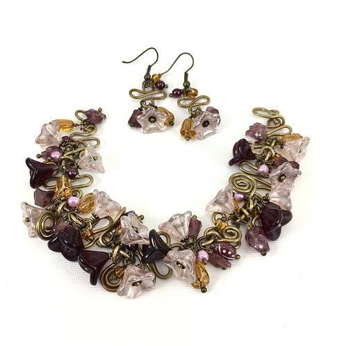 Vintage Blooms Bracelet Set