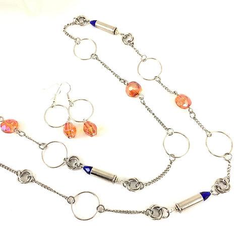 BSU Spirit 'n Bullet Long Necklace Set