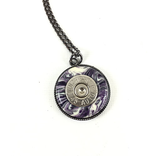 Medallion Necklace_Lg_Bluebry