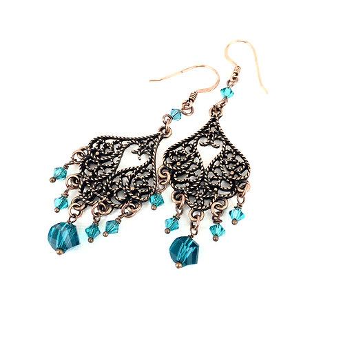 Oceanic Chandelier Earrings