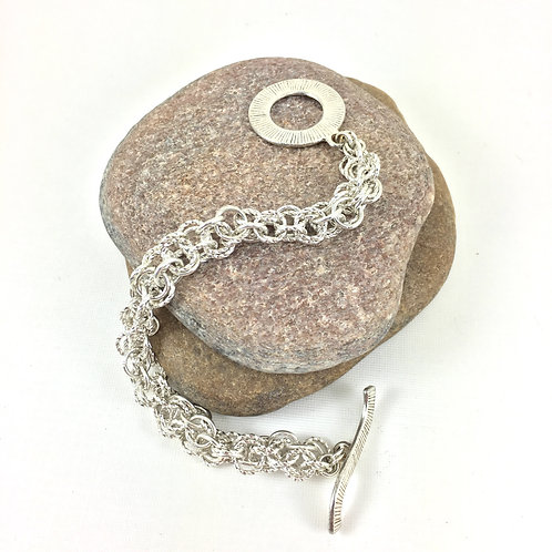 Bold 'n Beautiful Chainmaille Bracelet