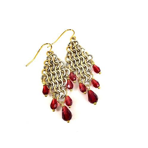 Diamond Drops Earrings