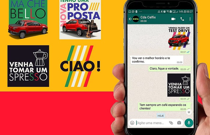 stickers CDA Fiat