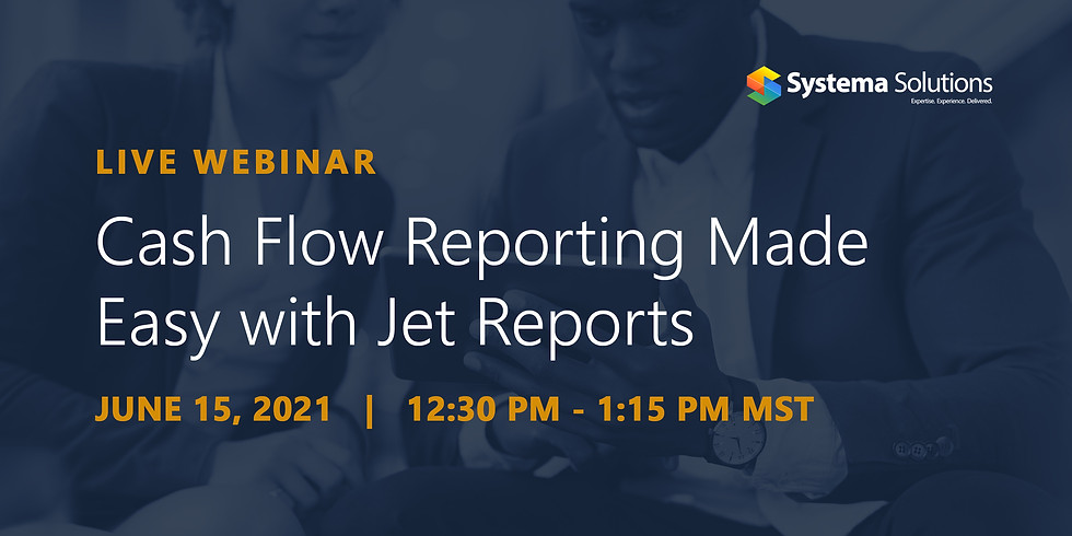 Cash Flow Reporting Made Easy with Jet Reports