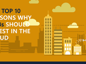 The Top 10 Reasons Why SMBs should invest in the cloud