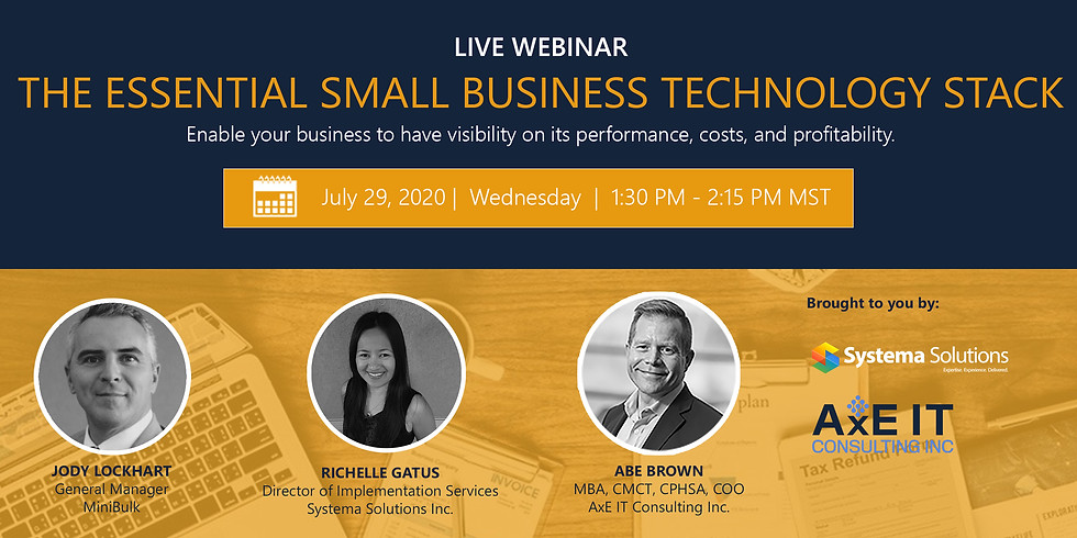 The Essential Small Business Technology Stack
