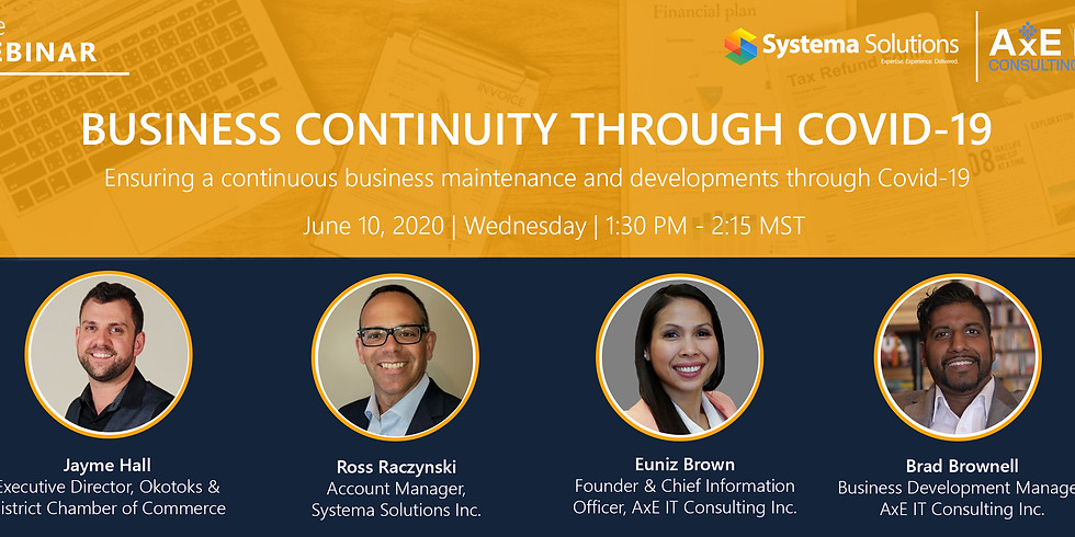 Business Continuity through COVID-19