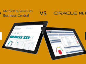 Comparing Microsoft Dynamics 365 Business Central versus Netsuite