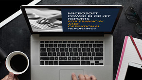 Power BI or Jet Reports for financial and operational reporting?