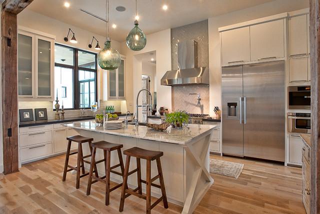 Cat Mountain Residence transitional-kitchen