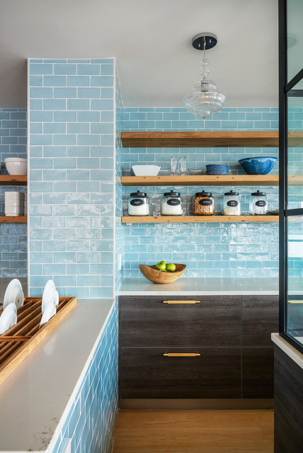 Charlestown, MA Open Floor Plan Kitchen modern