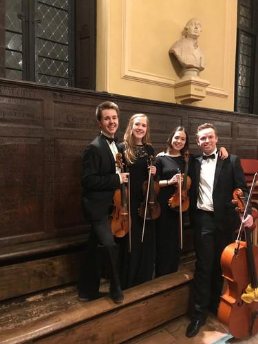Bell Quartet at Eton