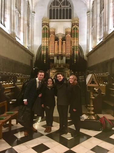 Bell Quartet at Eton Chapel