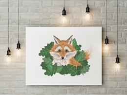 Foxy Akrilik Duvar İllüstrasyonu