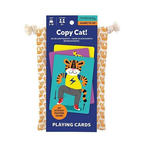 MudPuppy Kids Copy Cat! Playing Cards