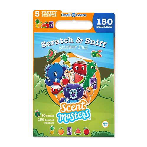ScentCo: Scratch and Sniff Sticker Pad