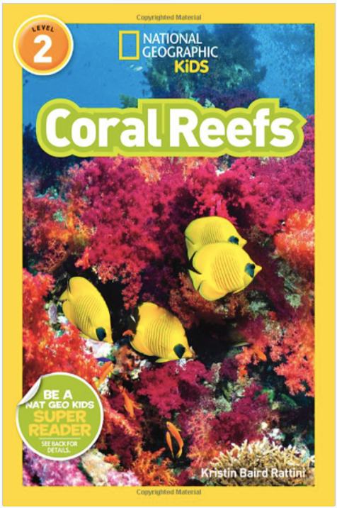 National Geographic Kids: Coral Reefs Book