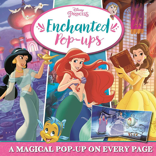 Disney Princess: Enchanted Pop-Ups Book