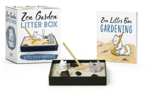 Zen Garden Sensory Mini Litter Box
