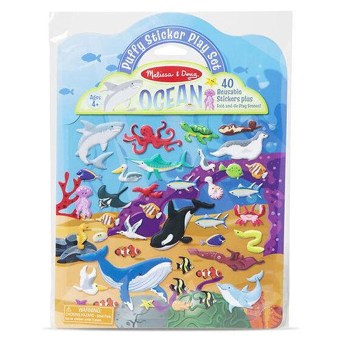 Melissa and Doug: Puffy Sticker Play Set - Ocean