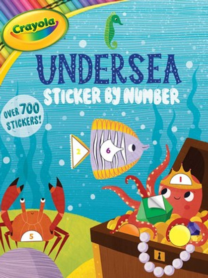 Crayola Undersea Sticker by Number