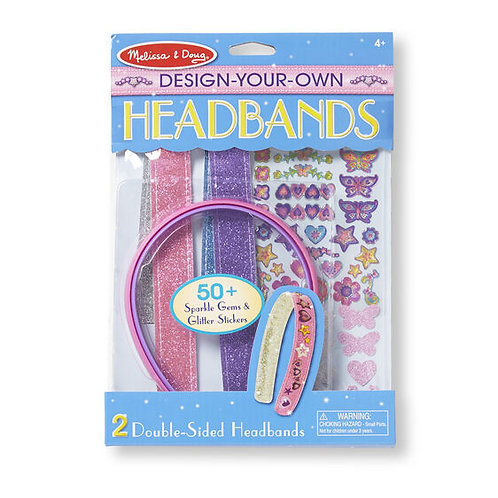Melissa & Doug: Created by Me! Headbands Design and Decorate Craft Kit