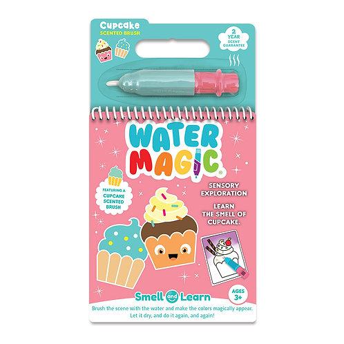 ScentCo: Water Magic Color Reveal Activity Book: Cupcake
