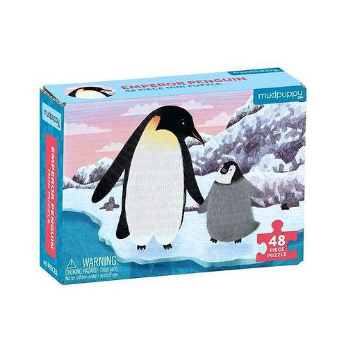 MudPuppy Kids: Emperor Penguin Mini Puzzle