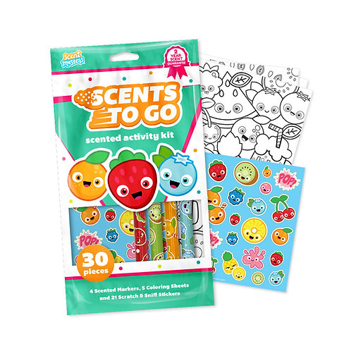 ScentCo: Scents to Go Markers Kit