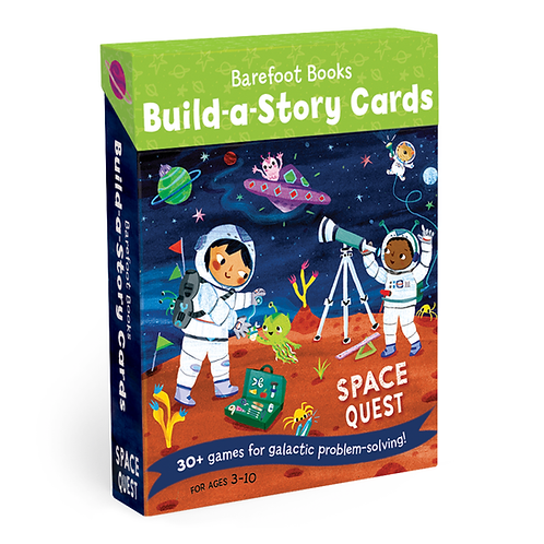 Build a Story Cards: Space Quest